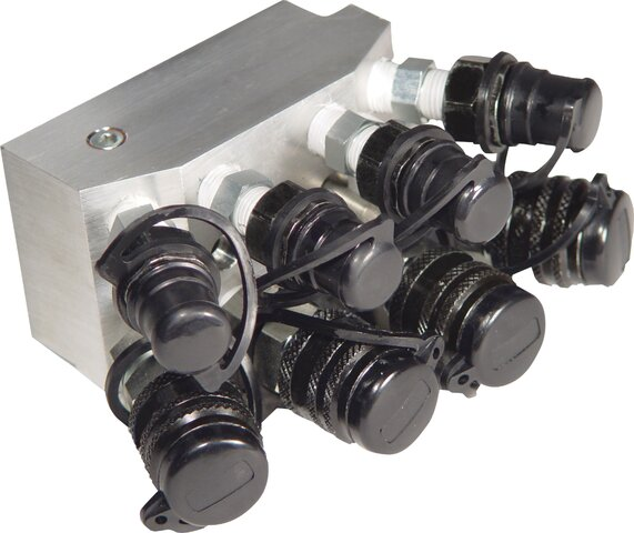 4 PORTS MANIFOLD FOR PUMPS 56885 - 56575 - 56890