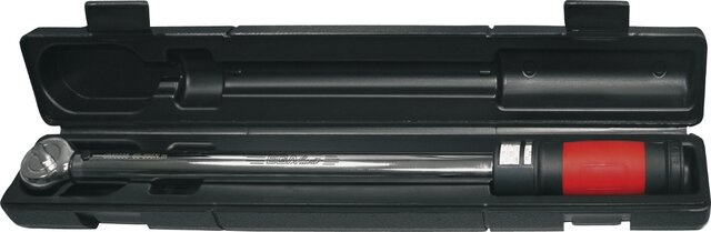 "ANALOGIC REVERSIBLE TORQUE WRENCH 1/4"" 2,5 - 12 NM 20 - 105 LB.IN"