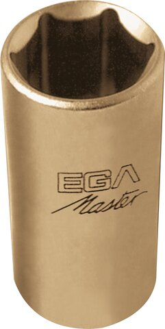 """SOCKET WRENCH 1/4"""" LONG SERIE 6 EDGES NON-SPARKING CU-BE 9/16"""""""