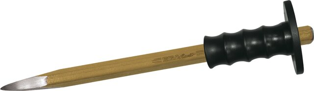 POINTED CHISEL HEXAGONAL WITH HANDLE 16 × 200 MM