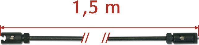 ROD FOR DRAINMATIC MAX 600 Ø 8 × 22 MM 30 × 1,5 M