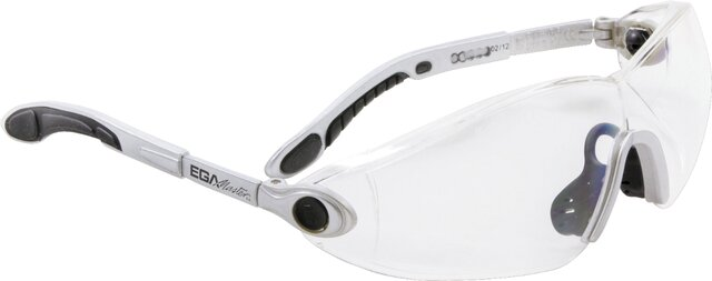 CLEAR ADJUSTABLE POLYCARBONATE GLASSES