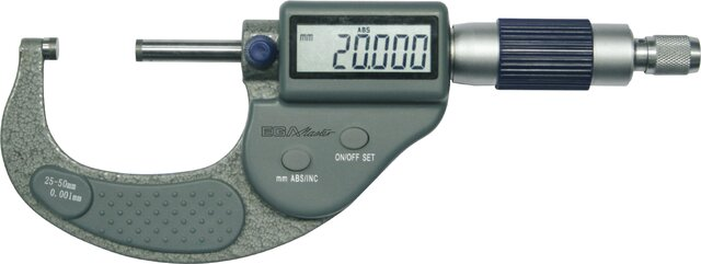 OUTER DIGITAL MICROMETERS 0 - 25 MM