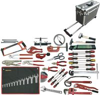 PLUMBING AND CONDITIONED AIR TOOLKIT 68 PIECES CASE
