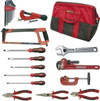 PLUMBING AND CONDITIONED AIR TOOLKIT 15 PIECES BAG