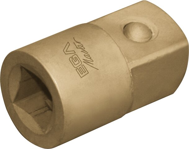 "ADAPTER NON-SPARKING CU-BE 1/2"" (FEMALE) - 3/8"" (MALE)"