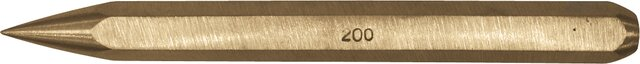 DIAMOND POINT CHISEL NON-SPARKING CU-BE 200 MM