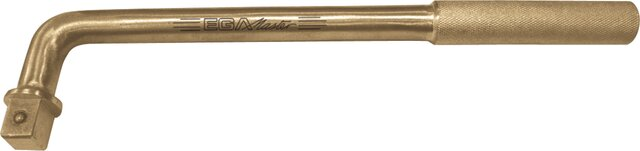 """OFFSET HANDLE 1/2"""" NON-SPARKING CU-BE 230 MM"""