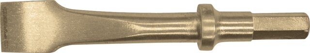 PNEUMATIC CHISEL FLAT NON-SPARKING CU-BE 10 × 125 MM