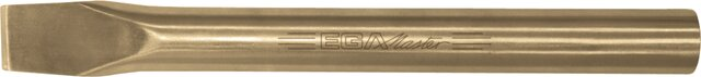 CYLINDRICAL COLD CHISEL NON-SPARKING AL-BRON 25 × 500 MM