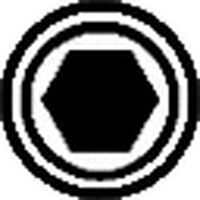 "SCREWDRIVER HEXAGONAL ALLEN MASTERTORK 1000 V EGA 1/8"" × 3"""