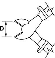 HEAVY DUTY DIAGONAL CUTTING PLIER TITACROM® BIMAT 1000 V 180 MM