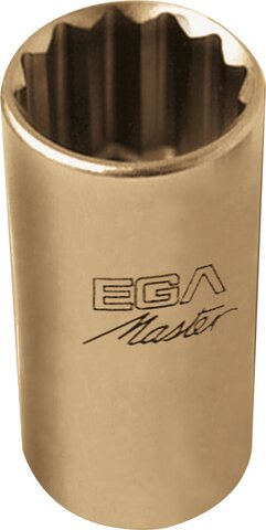 """SOCKET WRENCH 1"""" LONG SERIE 12 EDGES NON-SPARKING CU-BE 1.1/16"""""""