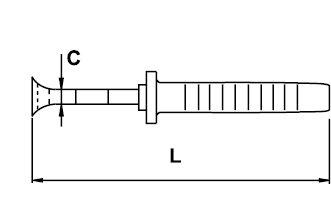 END CUTTING NIPPER (ELECTRICIAN) ELECTRICIAN TITACROM® BIMAT 1000 V 160 MM
