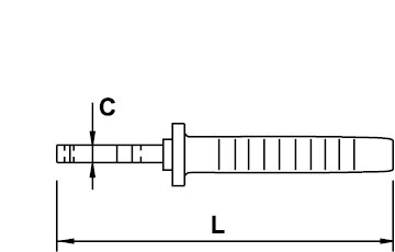 WIRESTRIPPER PLIER TITACROM® BIMAT 1000 V 160 MM