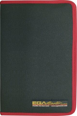 SET 4 POZIDRIV® SCREWDRIVERS EGA MASTERTORK 1000 V CLOTHING CASE