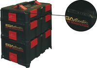 ABS TOOL CASE STACKABLE AND INDESTRUCTIBLE WITH PANELS