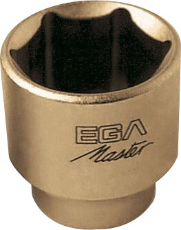 """SOCKET WRENCH 1"""" STANDARD 6 EDGES NON-SPARKING CU-BE 1.7/16"""""""