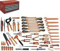 ELECTRICIAN TOOLKIT 52 PIECES MM CHEST