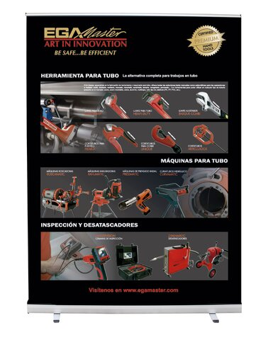ROLL-UP PIPE TOOLS & PIPING MACHINE (SPANISH)