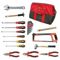 TOOLKIT FOR MECHANIC 17 PIECES BAG