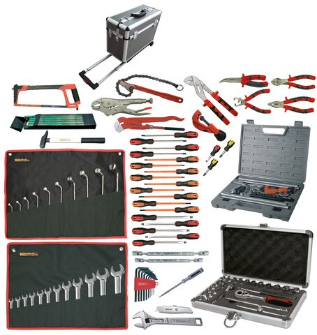 PLUMBING AND CONDITIONED AIR TOOLKIT 114 PIECES CASE