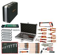ELECTRICIAN TOOLKIT 84 PIECES MM
