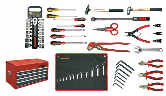 TOOLKIT FOR MECHANIC 53 PIECES MM