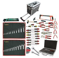 TOOLKIT FOR MECHANIC 104 PIECES CASE