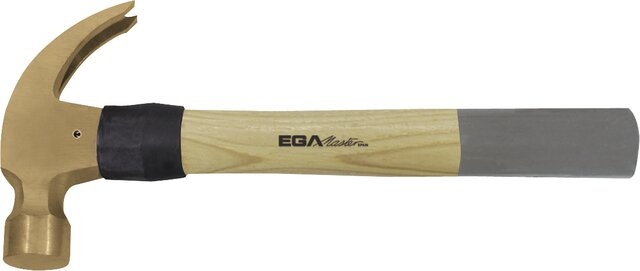 CLAW HAMMER HICKORY HANDLE NON-SPARKING CU-BE 500 GR