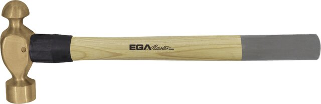 BALL PEIN HAMMER HICKORY HANDLE NON-SPARKING AL-BRON 900 GR