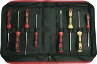 SET 6 SCREWDRIVERS MASTERTORK 1000 V EGA CLOTHING CASE REF. 74701, 74702, 74703, 74704, 74705, 74708