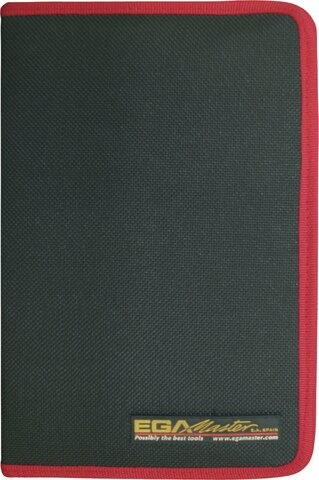 SET 6 SCREWDRIVERS MASTERTORK 1000 V EGA CLOTHING CASE REF 76621, 76622, 76625, 76629, 76630, 76631