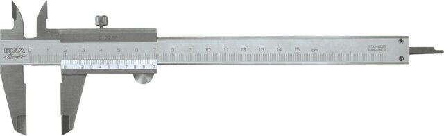 CALIBRE PIE DE REY INOX 150 MM × 0,02 MM