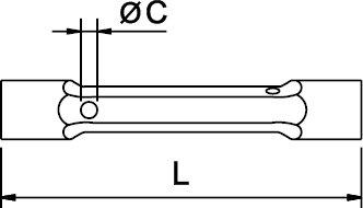 LLAVE DE TUBO DOBLE BOCA ANTICHISPA CU-BE 30 - 36 MM