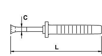 ALICATE CORTE FRONTAL TITACROM® BIMAT 1000 V 160 MM