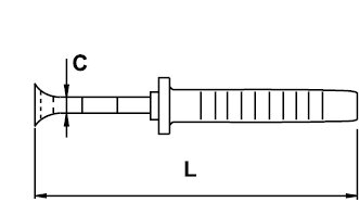 ALICATE CORTE FRONTAL ELECTRICISTA TITACROM® BIMAT 1000 V 160 MM