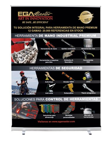 ROLL-UP 12 GAMAS (ES)