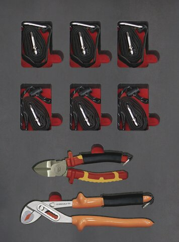SETS OUTILS ANTI-CHUTE ANTIDROP 169 PIECES