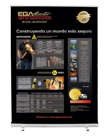ROLL-UP SECURITÉ ATEX-ANTIDÉFLAGRANTE (ESPAGNOL)