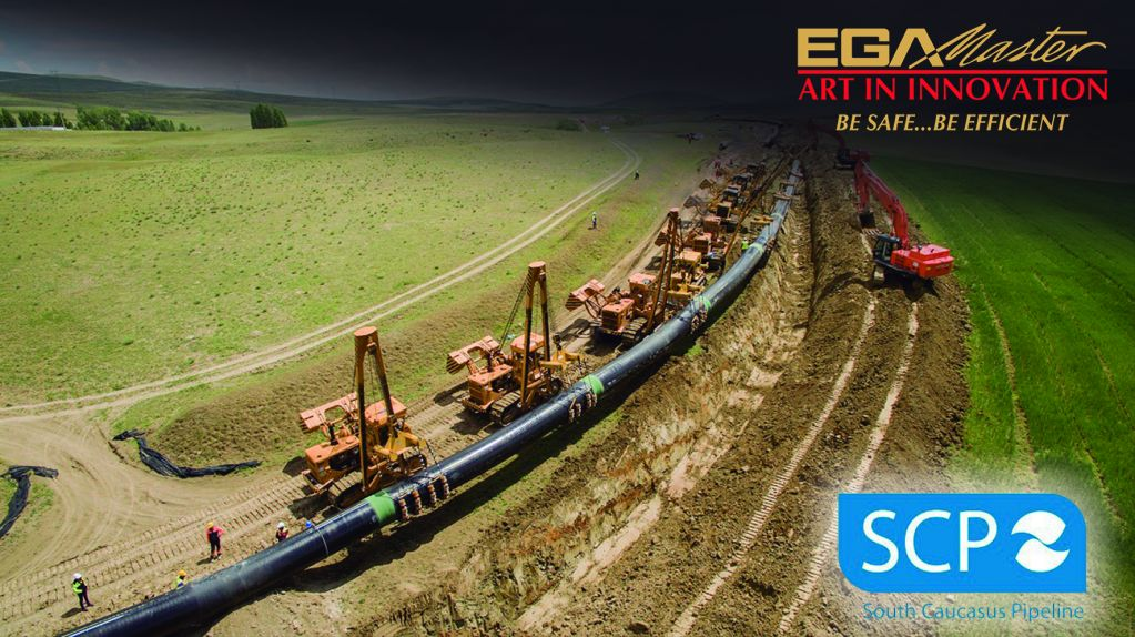 SOUTH CAUCASUS PIPELINE COMPANY ALSO CHOOSE THE EGA MASTER TOOLS